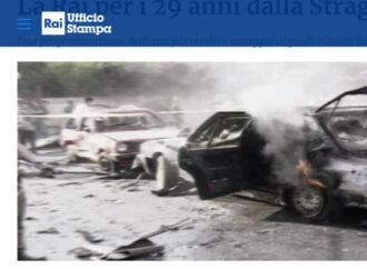 Borsellino, 29 anni fa: così la Rai ricorda la strage di via d'Amelio