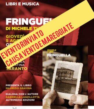 """""""Fringuella"""" al Tridakna Beach presentazione rinviata causa vento e mareggiate <span class=""""dashicons dashicons-calendar""""></span>"""